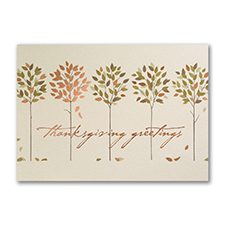 Rustic Thanks - Thanksgiving Card